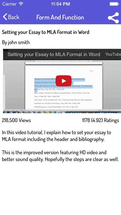 How To Write An Essay - Ultimate Video Guide screenshot-3