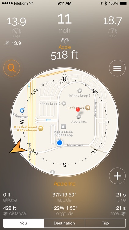 BringMeHome - The compass needle to YOUR destination