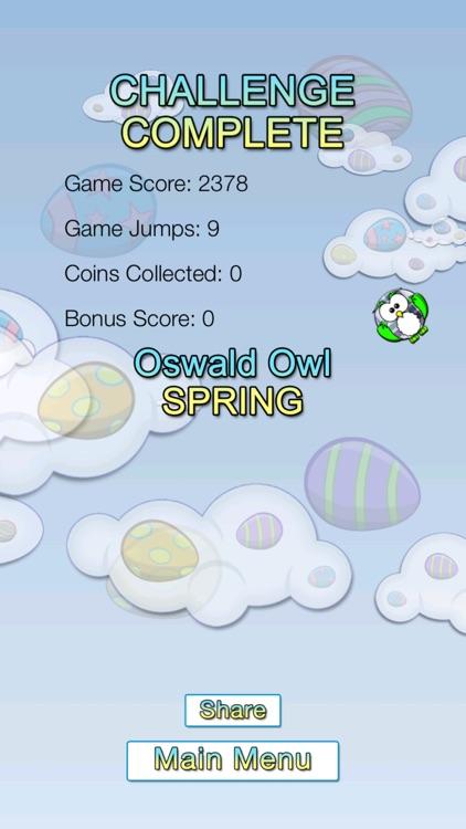 Oswald Owl SPRING Multiplayer