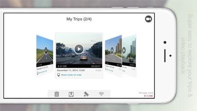 Автомобильный видеорегистратор Скриншоты4