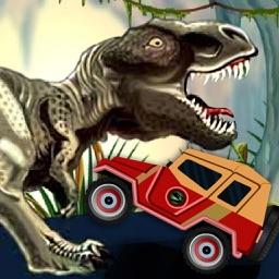 Dino Island Adventure - Monster Jeep Racing