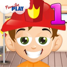 Activities of Fire Fighter Kid Goes to School: First Grade Learning Games