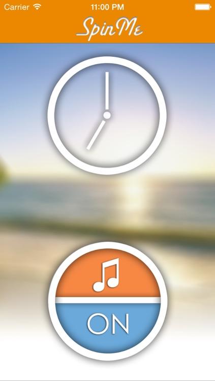 SpinMe Alarm Clock - Guaranteed Wake Up for Deep Sleepers screenshot-3
