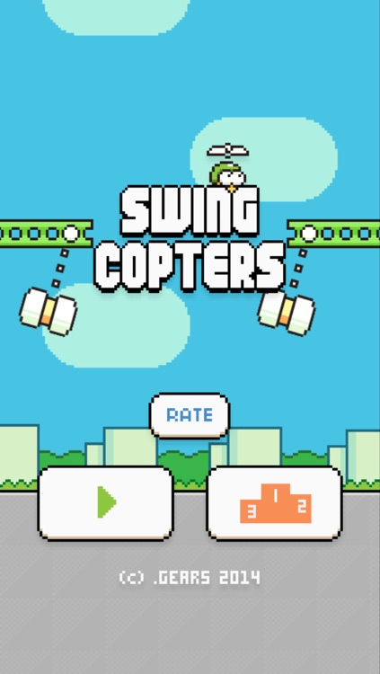 Swing Copters screenshot-0