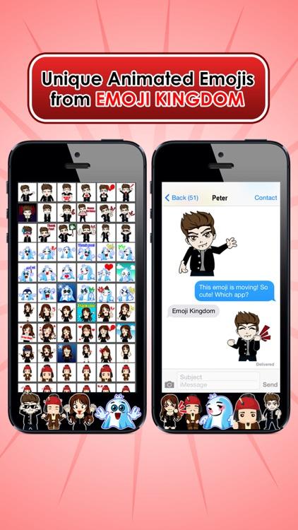 Emoji Kingdom 14 Free Vampire Halloween Emoticon Animated for iOS 8