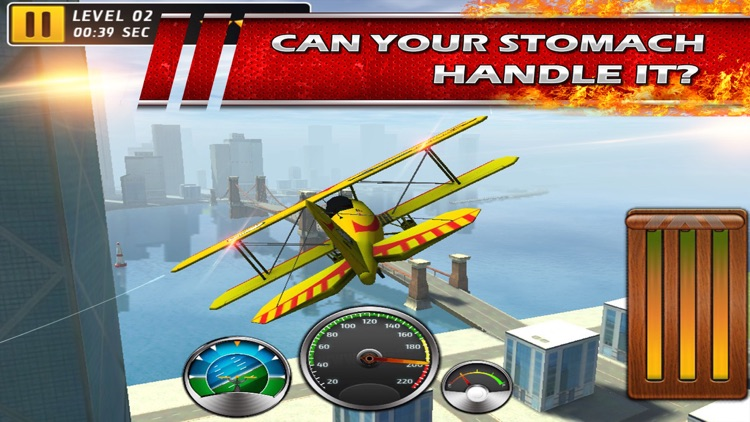 Stunt Baron Metal Wings xtreme a 3d bandit airplane pilot screenshot-2
