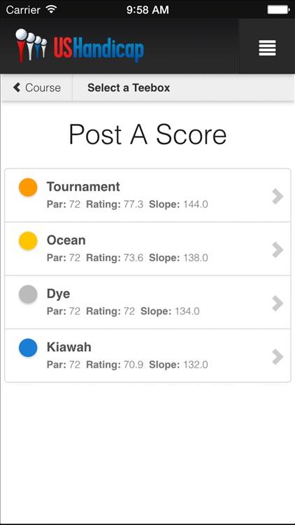 US Handicap - USGA Handicap Tracker app image