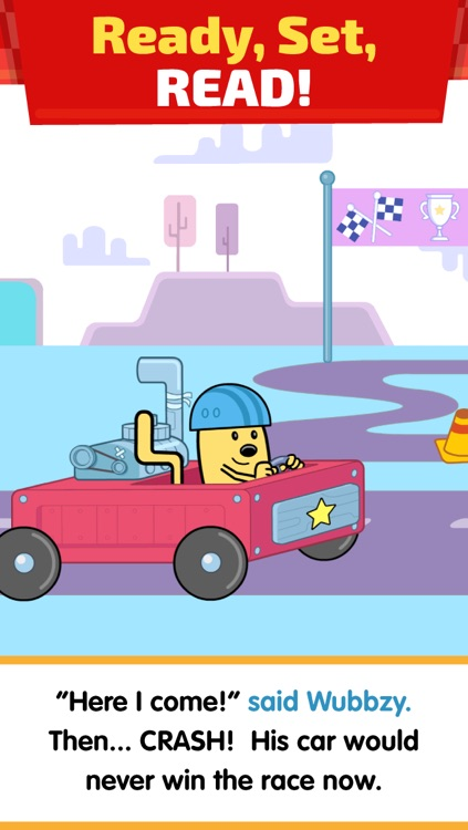 Wubbzy's Race Car
