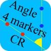 4点-角度 可動域測定 CR