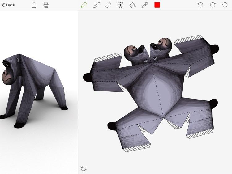 Foldify Zoo - Create & Print