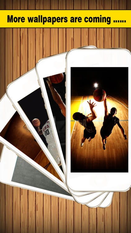 Basketball Screen Pro - Wallpapers & Backgrounds Maker with Cool HD Themes of Players & Balls screenshot-4