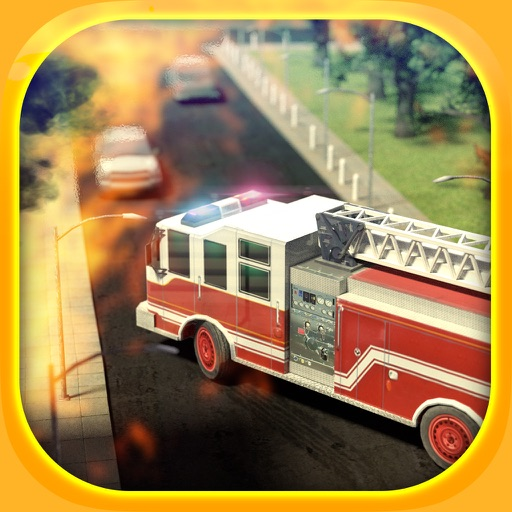 Emergency Simulator PRO - Driving and parking police car, ambulance and fire truck icon
