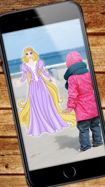Princesses – photo stickers