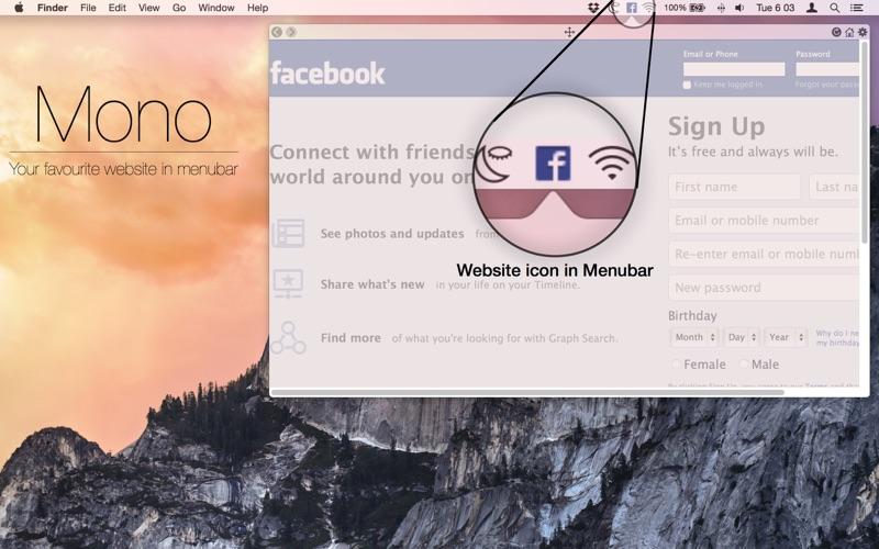 Mono - Tab Browser скриншот программы 1
