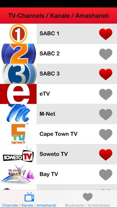 ► TV guide South Africa uhlelo: iNingizimu Afrika