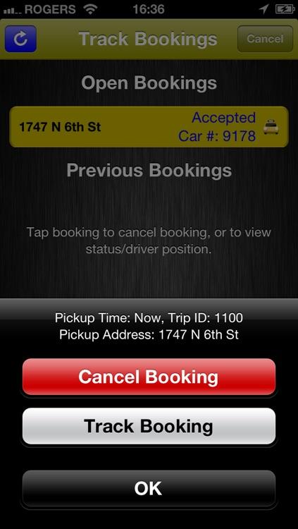 Yellow Cab Co-Operative screenshot-3