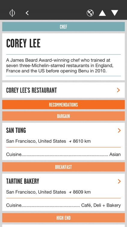 Where Chefs Eat – A Guide to Chefs' Favorite Restaurants screenshot-3