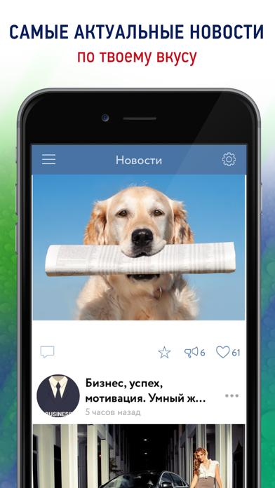 Лучшие посты из VK. Новости и фото из Вконтакте без регистрации в VK. Screenshot on iOS