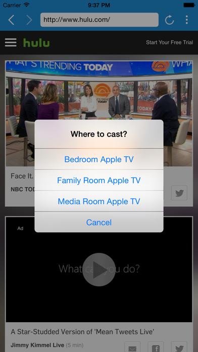 A-Cast screenshot two