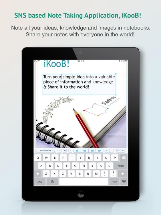 iKooB - A Social Note