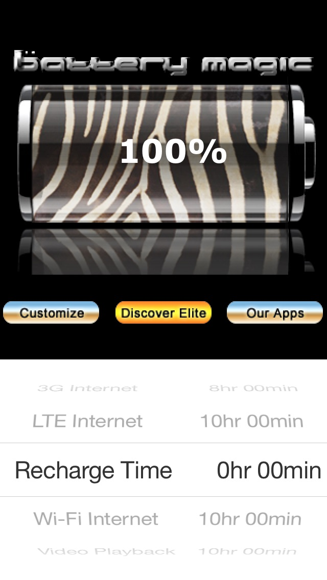 Battery Magic: Battery Life Battery Stats Battery Charge & Saver all in one! Screenshot