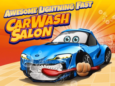 Awesome Lightning Fast Car Wash Salon and Auto Repair Game For Kids-ipad-0