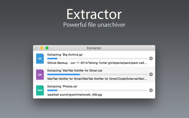 rar zip extractor