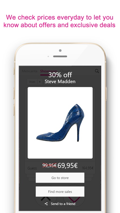 Mencanta Shoes – Offers in sandals, boots, heels and sneakers. Exclusive discounts on shoes from Manolo Blahnik, Christian Louboutin, Jimmy Choo, Fred Perry, New Balance, Justfab, Jeffrey Campbell, Clarks, Converse, Sam Edelman and more. screenshot-3