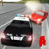 警察强盗愤怒的赛车 - 犯罪警察追逐
