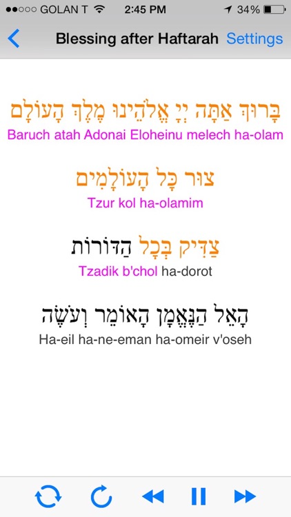 iBless Torah screenshot-3