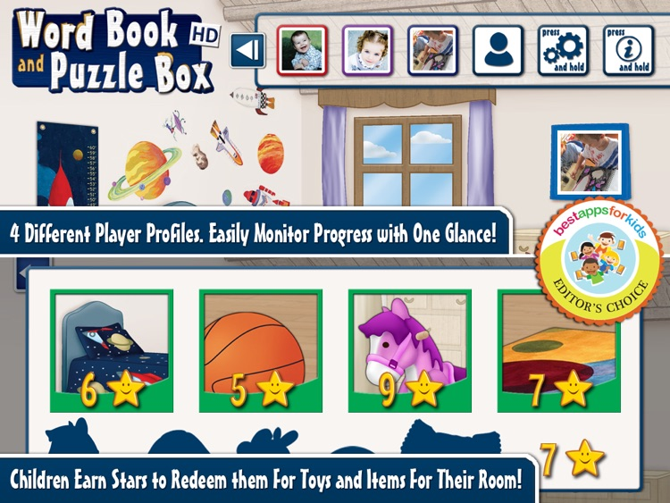 First Words Book and Kids Puzzles Box screenshot-3