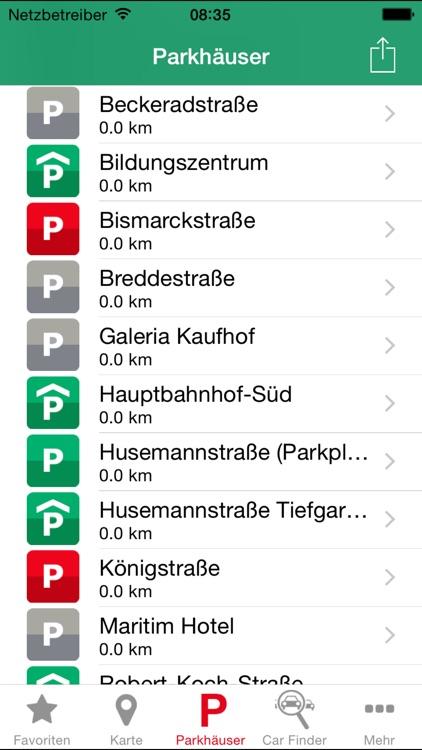 Parken in Gelsenkirchen