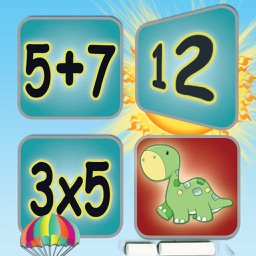 Math Facts Express Card Matching Game