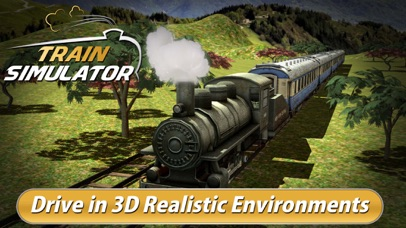 Real Train Driving Simulator 3D - Express Rail Driver Parking