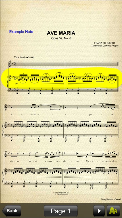 Legacy Musicnotes Viewer (Unsupported)