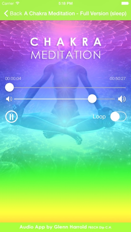 A Chakra Meditation by Glenn Harrold screenshot-3