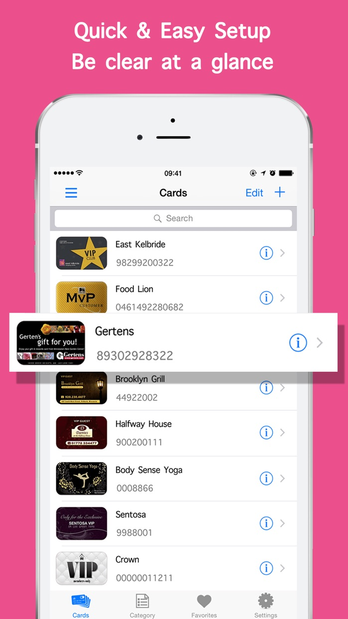 Passbook Manager Pro & Manage Cards Secure Dominations wallet vault - Password Okay Membership Rewards Gift Contacts Screenshot