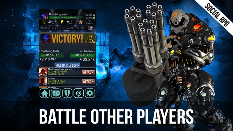 Zombie Moon – Space Marines vs Undead Zombies - Dark Future Social RPG. FREE.