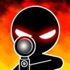 A Stickman Sniper Shooter - 明確なビジョンと撃つ - INGの軍隊スティック戦争銃の敵のゲーム - iPhoneアプリ