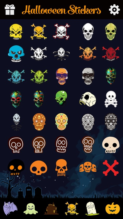 Halloween Emoji Pro - Add Scary Ghost & Zombie Emoticon Stickers to Messages for Greetings