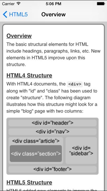 HTML5 Pro Quick Guide screenshot-3