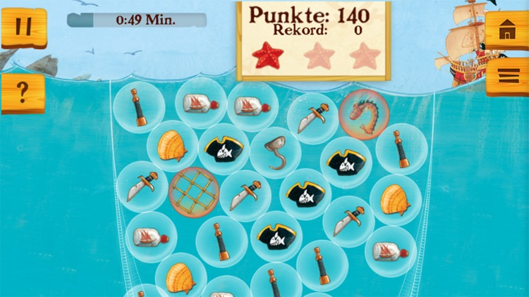 Käpt'n Sharky Piratenspaß zum Lesen und Spielen screenshot-4