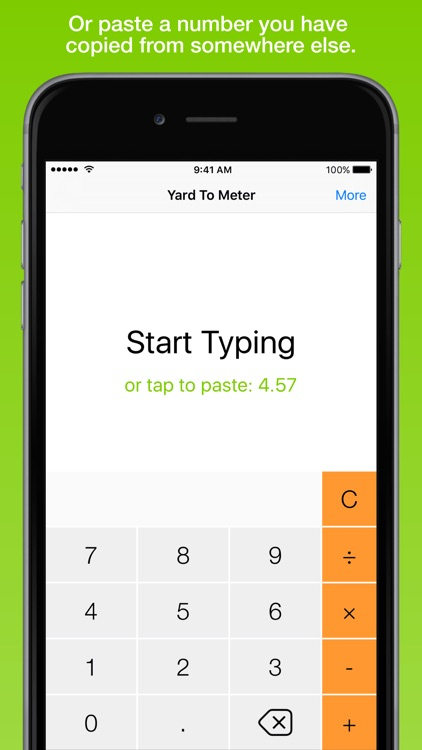 Yard To Meter, the fastest distance converter screenshot-3