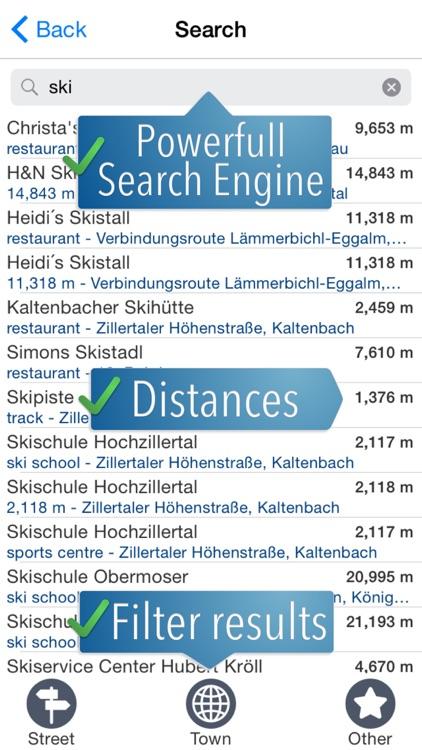 Zillertal Ski Map screenshot-3