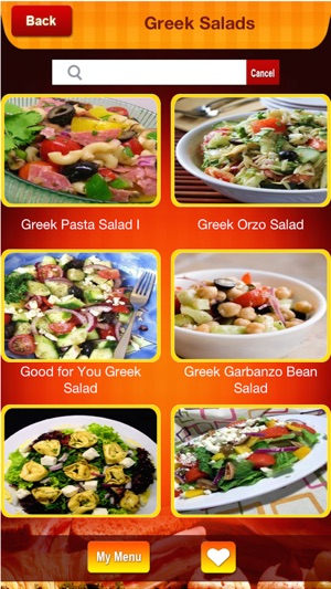 Greek food recipes cook special greek meal on the app store forumfinder Image collections