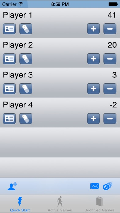 Score Keeper review screenshots