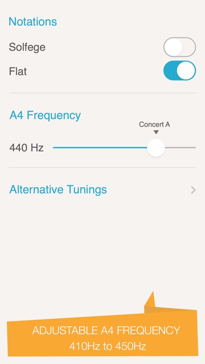 Silvertune: Guitar Tuner screenshot-1