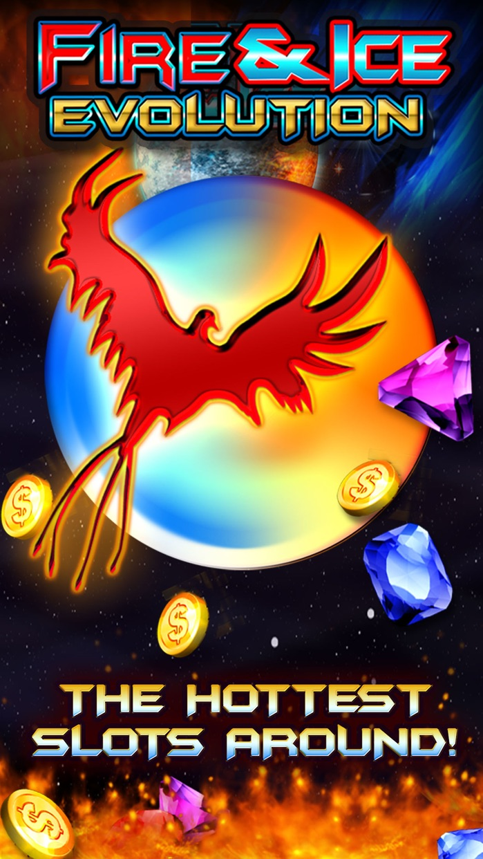 Fire and Ice Slots | Free Slot Machine Games Screenshot