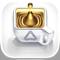 "App Icon for 英語で聞く名言!心に響く""金の一言"" App in United States IOS App Store"
