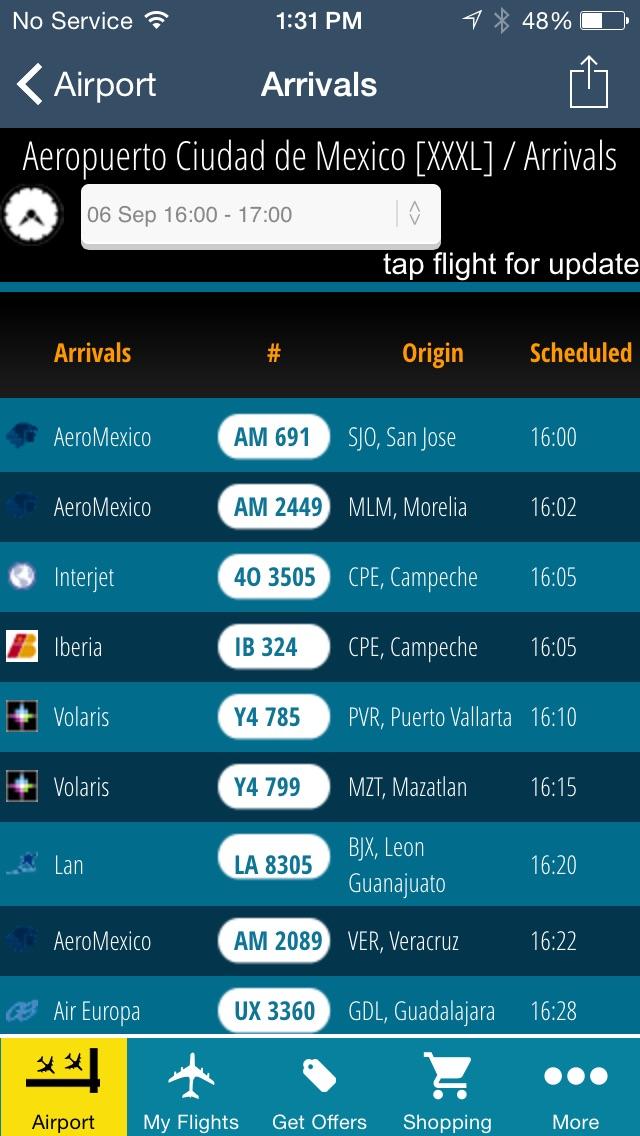 Mexico City Airport Pro (MEX) Flight Tracker  Cuidad de Mexico Radar